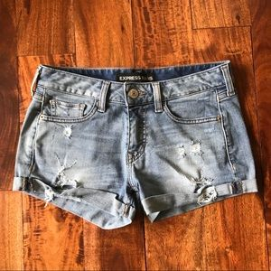 EXPRESS Stretch Denim Shorts